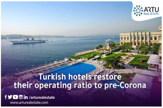Turkish hotels restore their operating ratio to pre-Corona