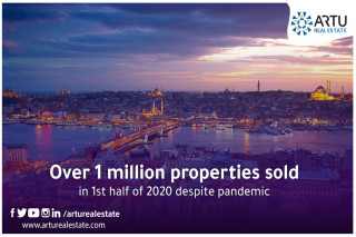 Over 1 million properties sold in 1st half of 2020 despite pandemic