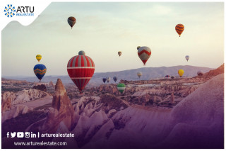 Cappadocia  Turkey, a destination for tourists With life returning to normal